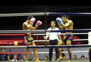 Muay Thai kickboxing in Chiang Mai
